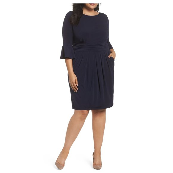 Eliza J. Bell Sleeve Sheath Dress Size 22W